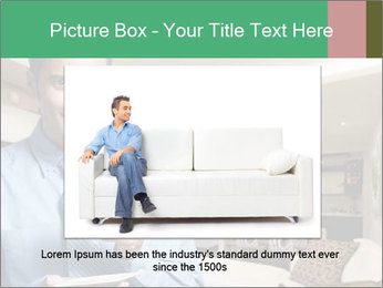 Young successful business PowerPoint Template - Slide 16