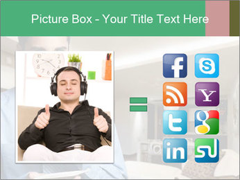 Young successful business PowerPoint Template - Slide 21