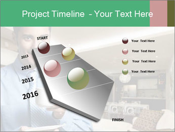 Young successful business PowerPoint Template - Slide 26