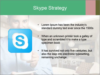 Young successful business PowerPoint Template - Slide 8