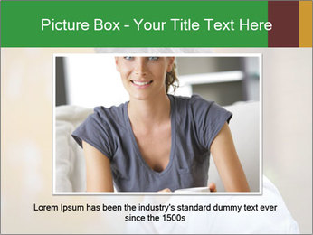 Serious Woman PowerPoint Template - Slide 15