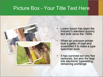 Serious Woman PowerPoint Template - Slide 20