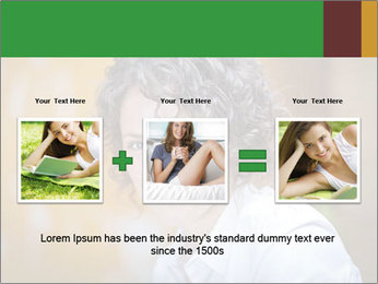 Serious Woman PowerPoint Template - Slide 22