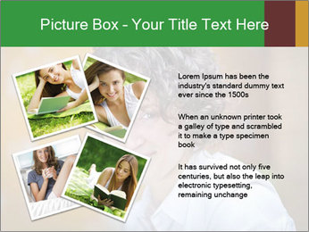 Serious Woman PowerPoint Template - Slide 23
