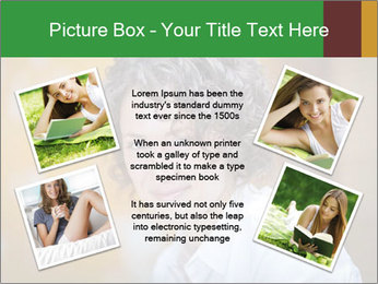 Serious Woman PowerPoint Template - Slide 24