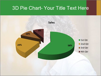 Serious Woman PowerPoint Template - Slide 35