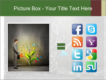 Businessman watering sprout PowerPoint Templates - Slide 21
