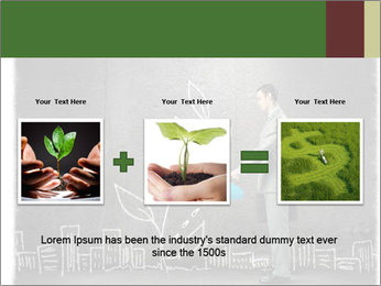 Businessman watering sprout PowerPoint Templates - Slide 22