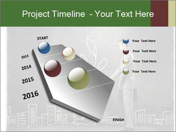 Businessman watering sprout PowerPoint Templates - Slide 26