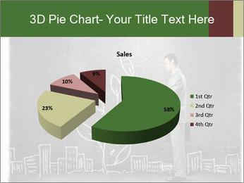 Businessman watering sprout PowerPoint Templates - Slide 35