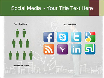 Businessman watering sprout PowerPoint Templates - Slide 5