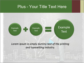 Businessman watering sprout PowerPoint Templates - Slide 75