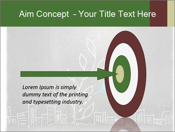 Businessman watering sprout PowerPoint Templates - Slide 83