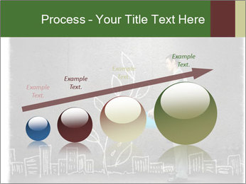 Businessman watering sprout PowerPoint Templates - Slide 87