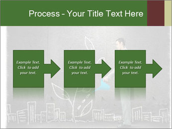 Businessman watering sprout PowerPoint Templates - Slide 88