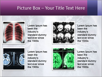 Healthy lungs PowerPoint Template - Slide 14