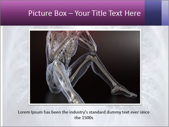 Healthy lungs PowerPoint Template - Slide 16