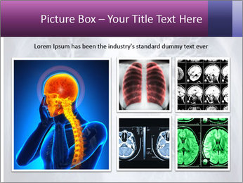 Healthy lungs PowerPoint Template - Slide 19