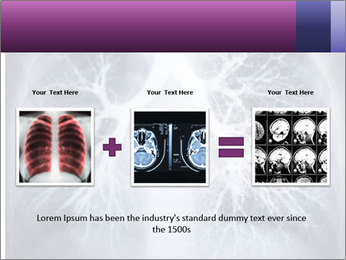Healthy lungs PowerPoint Template - Slide 22