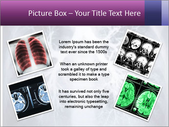 Healthy lungs PowerPoint Template - Slide 24