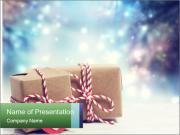 Small Handmade gift boxes PowerPoint Template