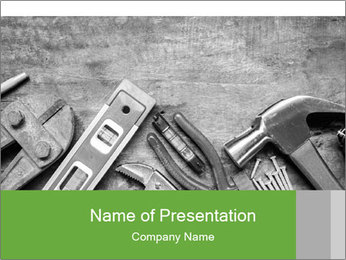 Tool renovation PowerPoint Template