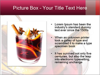 Hot red mulled wine PowerPoint Templates - Slide 13