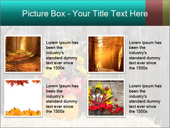 Pumpkin flower PowerPoint Template - Slide 14