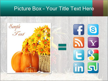 Pumpkin flower PowerPoint Template - Slide 21