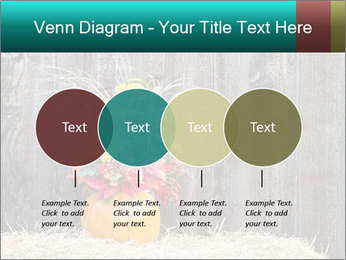 Pumpkin flower PowerPoint Template - Slide 32