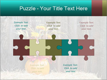Pumpkin flower PowerPoint Templates - Slide 41