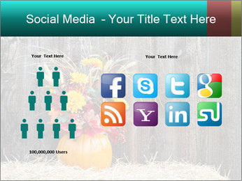 Pumpkin flower PowerPoint Template - Slide 5