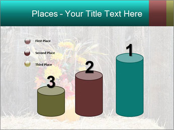 Pumpkin flower PowerPoint Templates - Slide 65