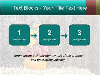 Pumpkin flower PowerPoint Template - Slide 71