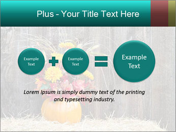 Pumpkin flower PowerPoint Templates - Slide 75