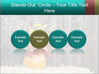 Pumpkin flower PowerPoint Templates - Slide 76