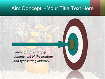 Pumpkin flower PowerPoint Templates - Slide 83