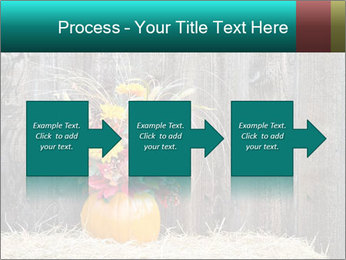 Pumpkin flower PowerPoint Template - Slide 88