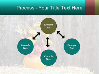 Pumpkin flower PowerPoint Templates - Slide 91
