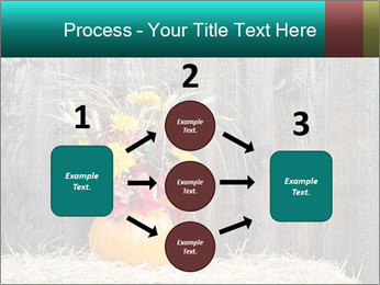 Pumpkin flower PowerPoint Template - Slide 92