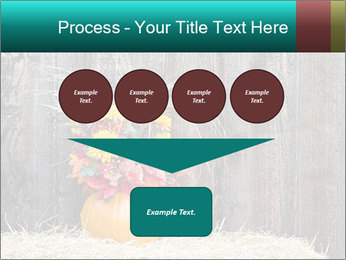 Pumpkin flower PowerPoint Template - Slide 93