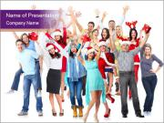 Christmas party. PowerPoint Template