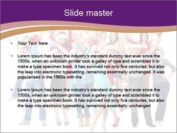 Christmas party. PowerPoint Templates - Slide 2