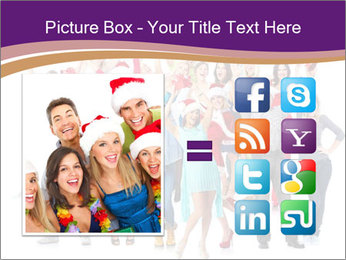 Christmas party. PowerPoint Templates - Slide 21