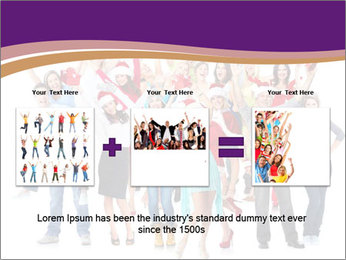 Christmas party. PowerPoint Templates - Slide 22