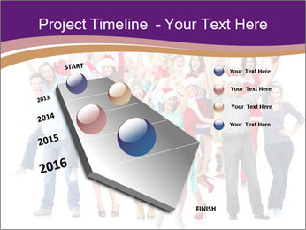 Christmas party. PowerPoint Templates - Slide 26