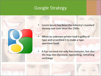 People teeth collage PowerPoint Templates - Slide 10