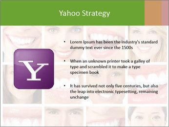 People teeth collage PowerPoint Templates - Slide 11