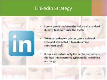 People teeth collage PowerPoint Templates - Slide 12