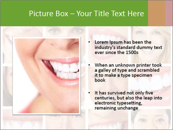 People teeth collage PowerPoint Templates - Slide 13